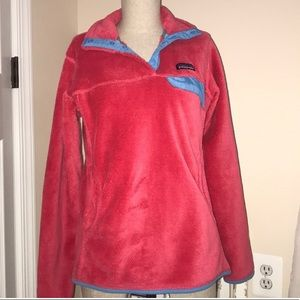 The Patagonia Re-Tool Snap-T Pullover Size medium